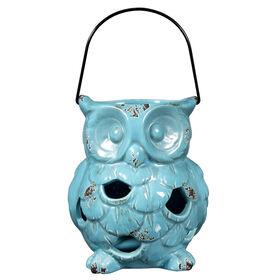 Picture of Aqua Ceramic Owl 7 in.