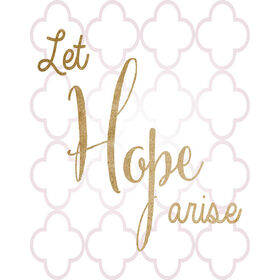 Picture of Hope Arise Accent Art- 11x14 in.