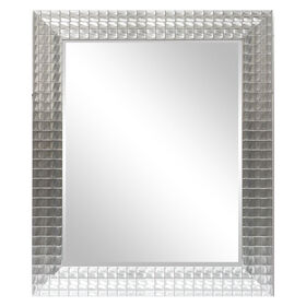 Picture of 22 X 28-in Silver Ornate Beveled Mosaic Mirror