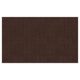 Picture of Brown Square Textured Doormat 3 x 5-ft