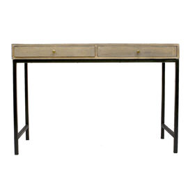 Picture of Black and Gray Mango Console Table