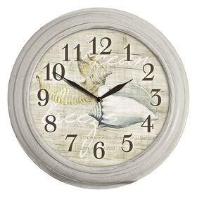 Picture of 12-in Sea Shell Clock