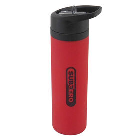 Picture of 19oz Silicone Bottle, Red