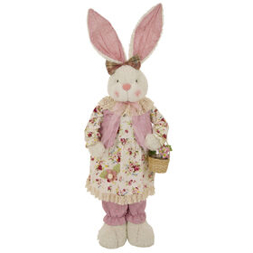 Picture of Pink Plush Standing Bunny- 33 in.
