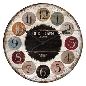 Picture of 23-in Old Fashion Color Clock