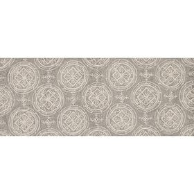 Picture of A92 Grey and Cream Diamond Rug