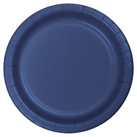 Picture of NAVY 7IN SALAD PLATE 24CT