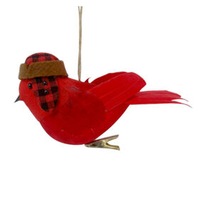 Picture of Feather Cardinal Ornament Clip