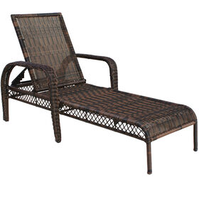 Picture of Wicker Chaise - Dark Brown