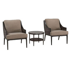 Stonebridge 3 Piece Chair and Table Set