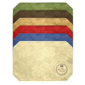 Picture of Solid Damask Placemat - Assortment of 6