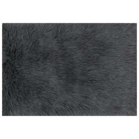 Picture of FAUX FUR DANSO GRAPHITE 2X3