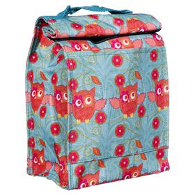 Picture of LUNCH TOTE ROLL DOWN PINK OWL