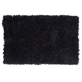 Picture of Black Paper Shag Rug- 3x5 ft