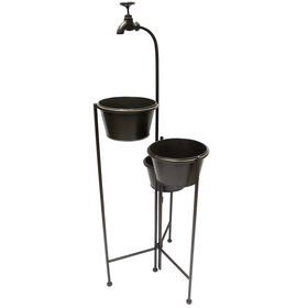Picture of 40IN 3 TIER GARDEN PLANT STAND