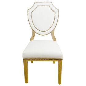 Picture of Marseille Dining Accent Chair- Ivory
