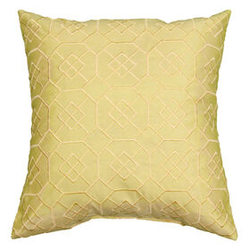 Picture of Yellow Embossed Pillow - 18in