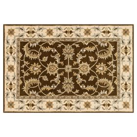 Picture of Blue and Brown Persian Rug- 5x8 ft