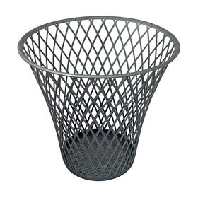Picture of Wire Wastebasket - Silver