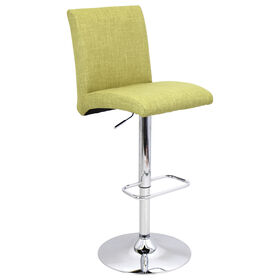 Chrissy 30-in Fabric Barstool - Lime