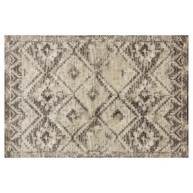 Picture of B262 Brown and Ivory Calypso Rug- 7x10 ft
