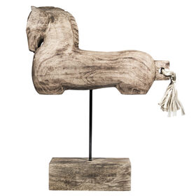 Picture of 19.5 H BARN WOOD HORSE