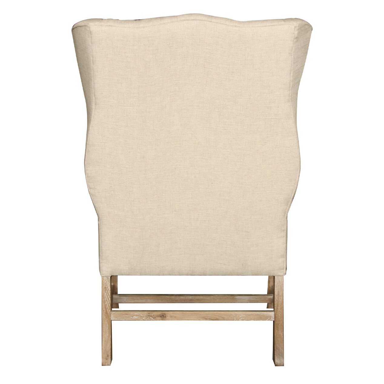James tufted wingback accent chair at home Tufted accent chair