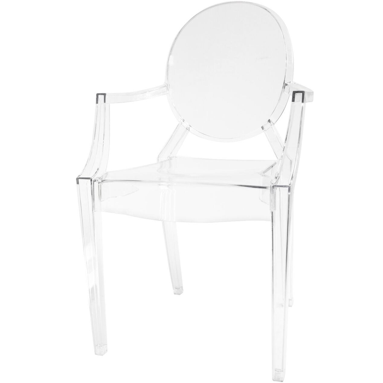 Acrylic clear chair - Acrylic Ghost Chair Clear