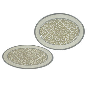 Picture of 12  OVAL PLATTER GLAM