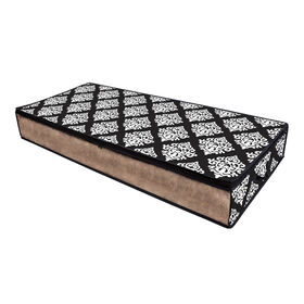 Picture of Underbed Chest, Large, Black Damask