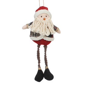 Picture of Polyester Santa/Snowman - Assortment of 2