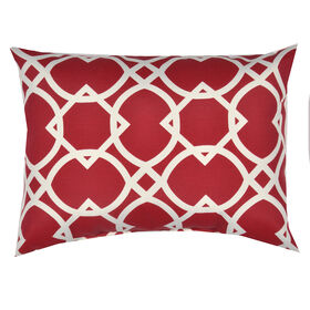 Elipse Cherry Rectangular Pillow