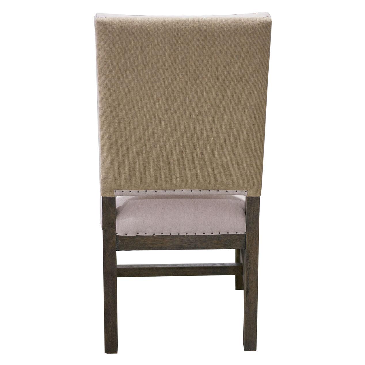 Humphrey Burlap Back Dining Chair  At Home