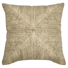 Picture of Natural Weave Stroke Pillow- 18-in