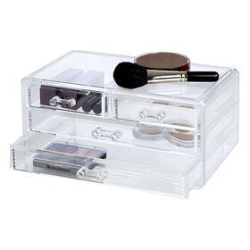 Picture of 4 Drawer Cosmetic Organizer - Clear