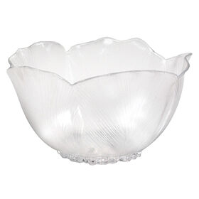Picture of 7in Hibiscus Bowl, Clear
