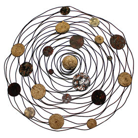 Picture of 29-in Brown Rope Circles