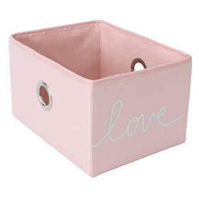 Picture of PNK LOVE FABRIC BIN S