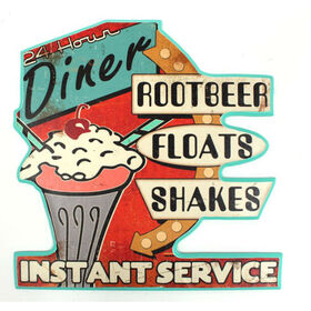 Picture of 18 X 18-in Root Beer Float Sign