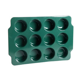 Picture of Green Silicon Muffin Pan- 12 Cup