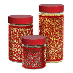 Picture of 3 Pack Glass Canisters