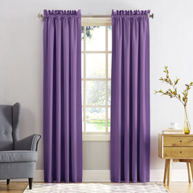 Picture of Madison Purple Pole Top Curtains 84 in.