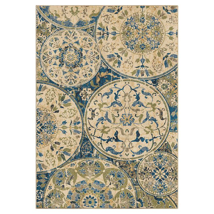 A244 Ceramic Layers Rug- 5x7 ft