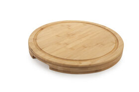 Picture of Pro Chef Violet Round Wood Cutting Board