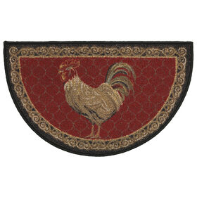 Picture of Rooster Slice Accent Rug 20 X 32-in