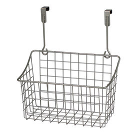 Picture of Medium Over-the-Cabinet-Door Wire Grid Basket, Nickel