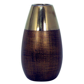 Picture of Bronze and Metallic Vase - 10 X 5.5 in.