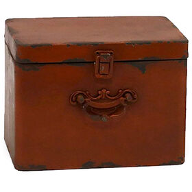 Picture of METAL BOX RED 9X7X6.5