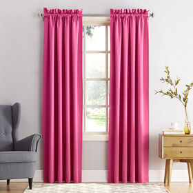 Picture of Madison Pink Pole Top Curtains 84 in.