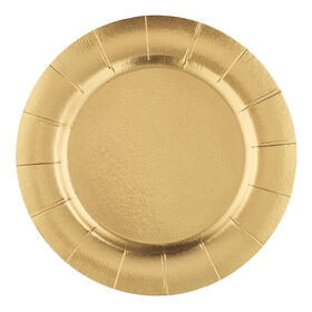 Picture of 12.5-in Gold Chargers - set of 10